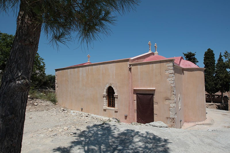 Agia Irini Monastery - Koumbes