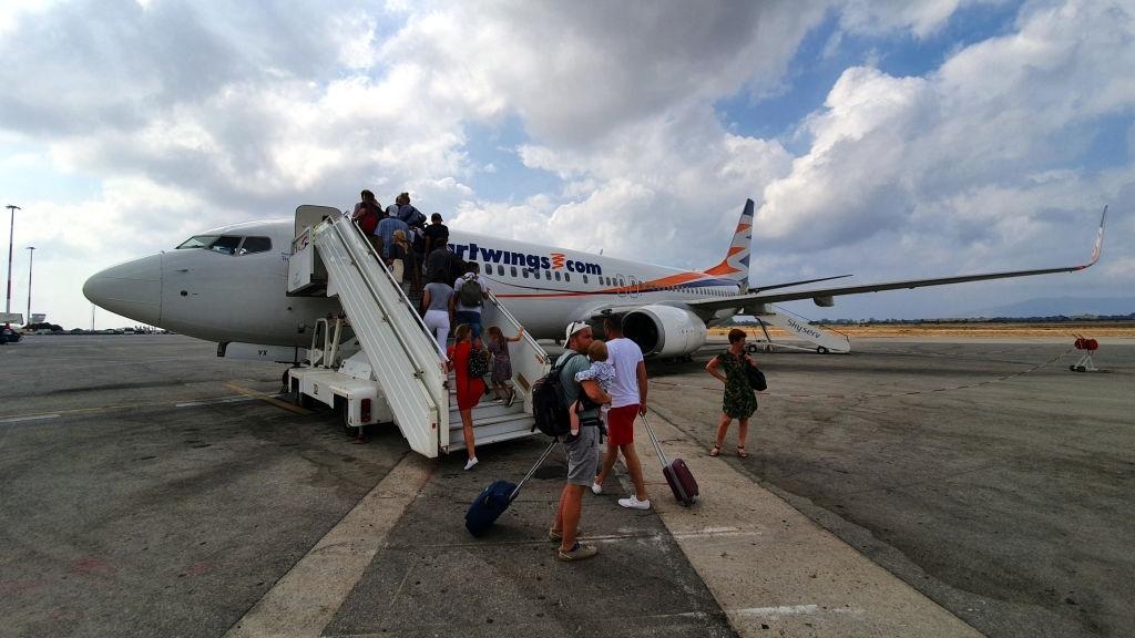 Chania airport Crete