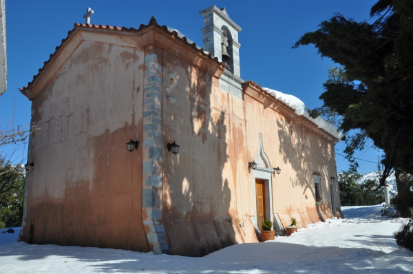 Kroustallenia Monastery - Lassithi plateau