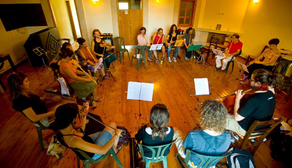 Labyrinth music workshop