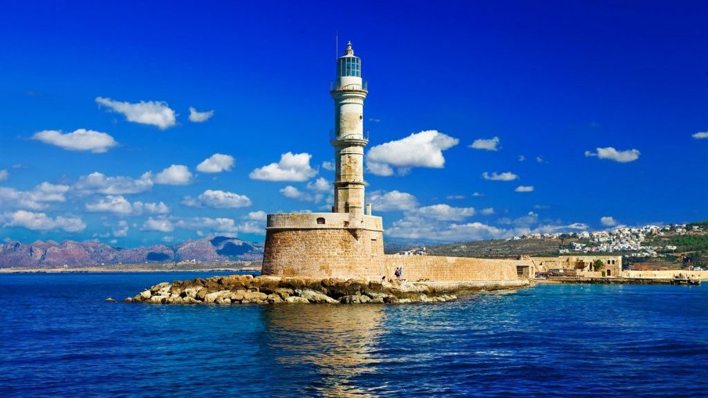 The Venetian Port & Lighthouse - Chania