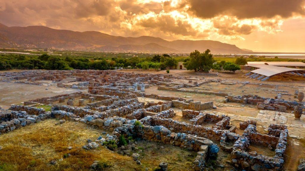 Minoan palace complex at Malia