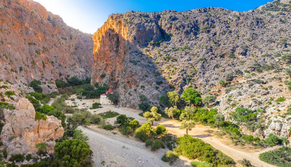 Agios Antonios Gorge – Asites