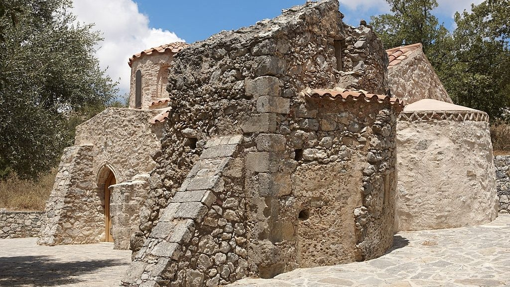 ancient church in Gerakari