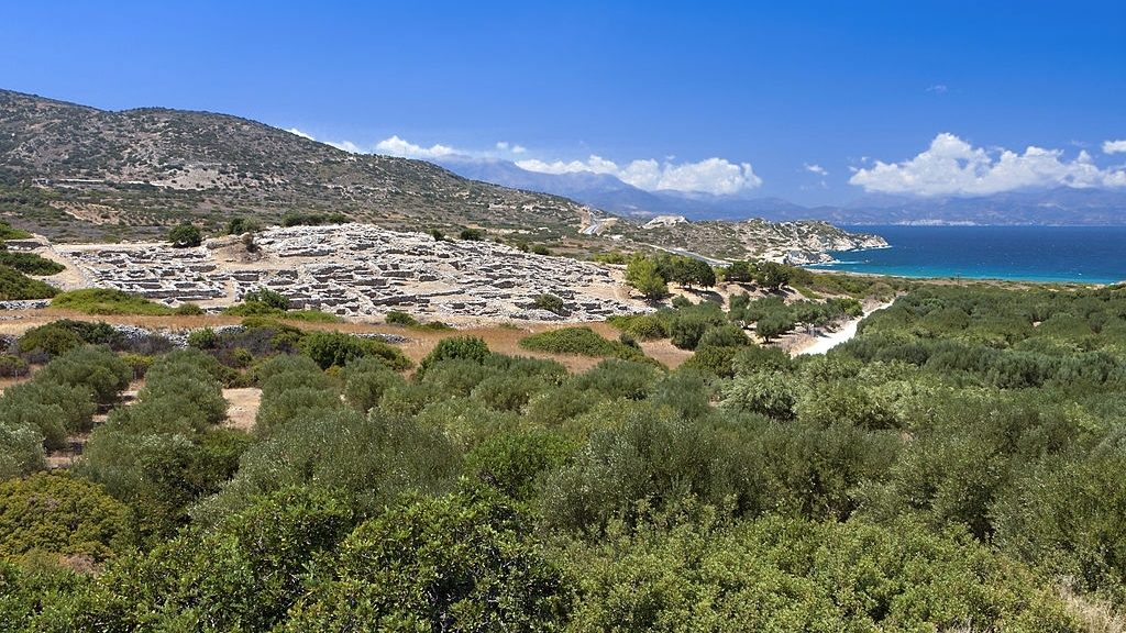 Archaeological site of Gournia Crete