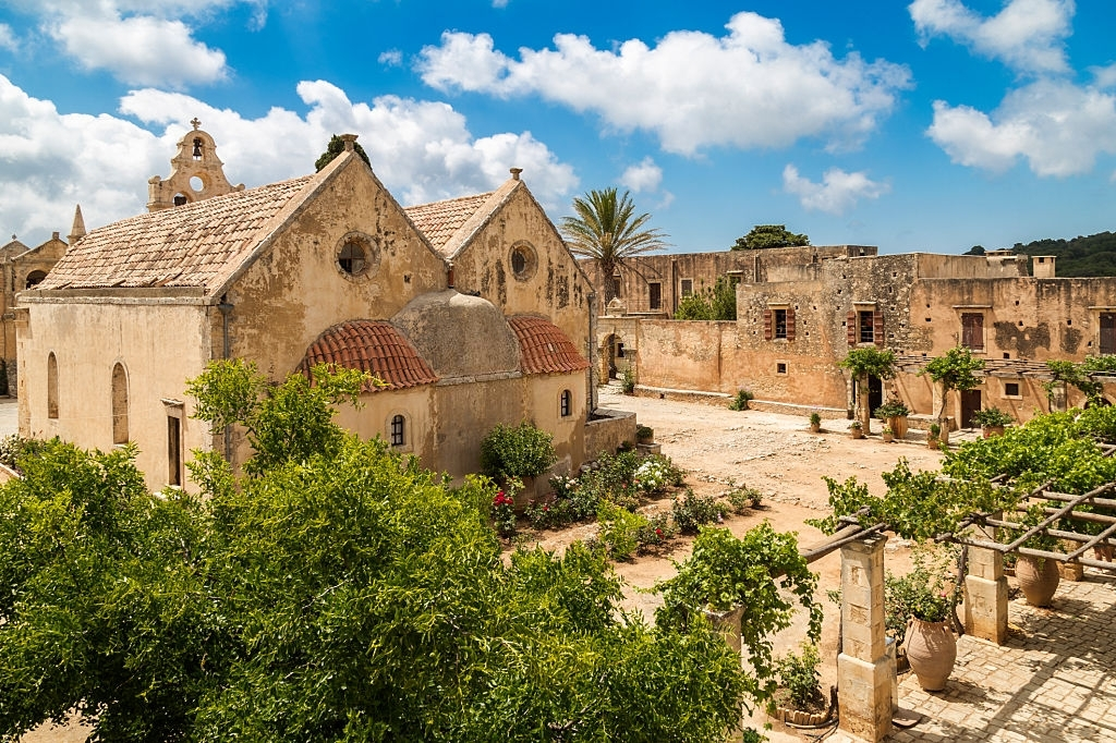monastery of Arkadi, Crete