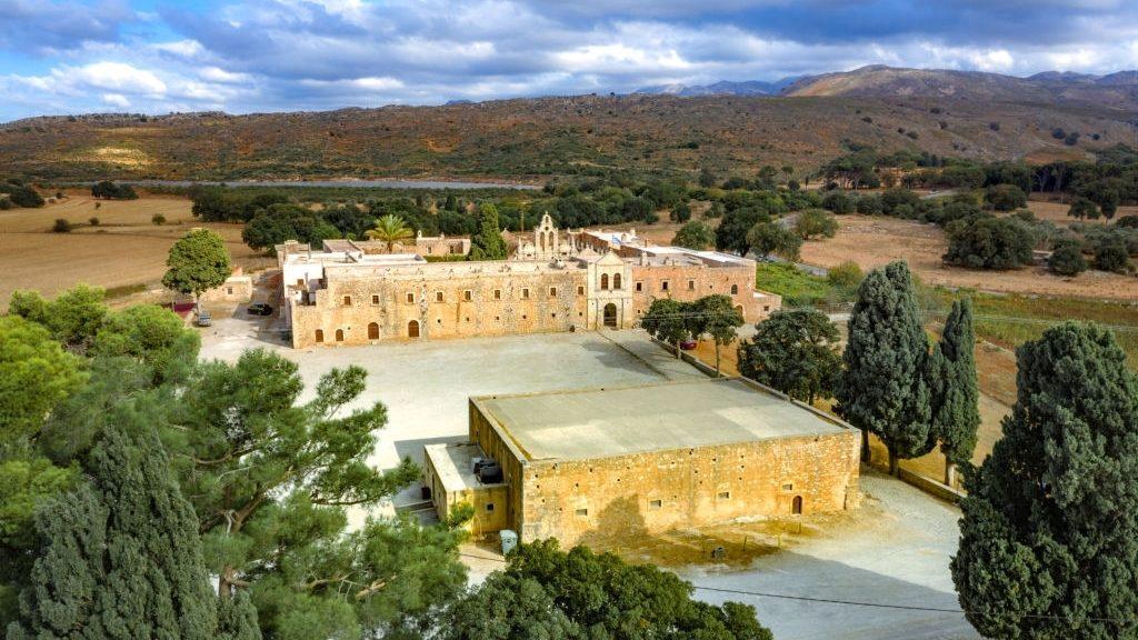 Arcadi monastery on Crete island