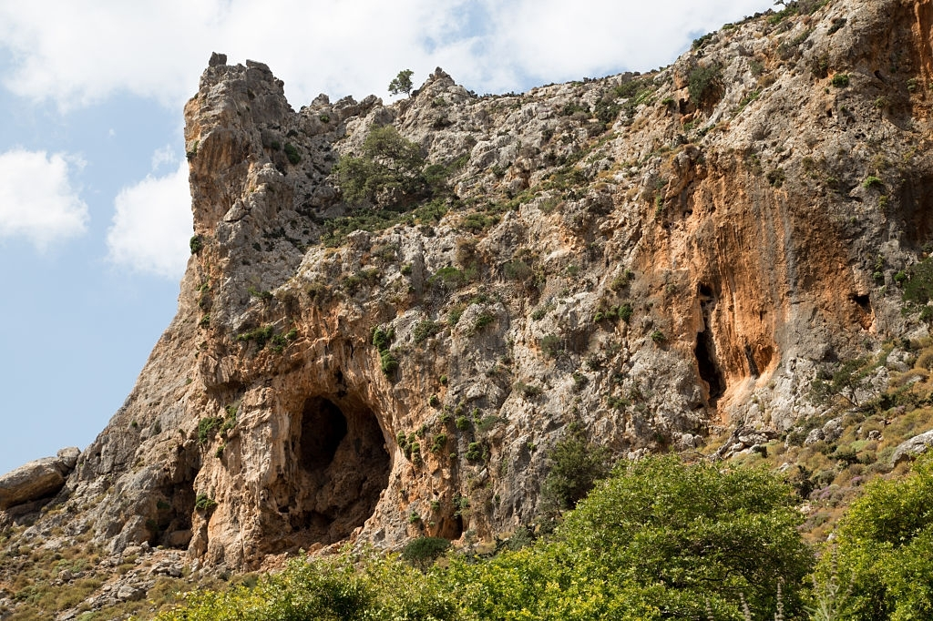 "Zakros Gorge – ""Valley of the dead"" – Crete"