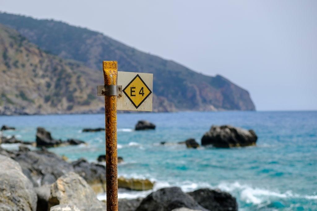 E4 Trail in Crete
