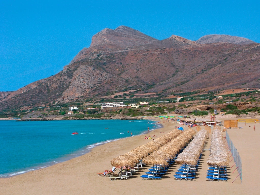 Crete, Greece, Falasarna beach