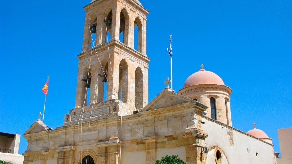 Greece, Crete. Gonia Monastery