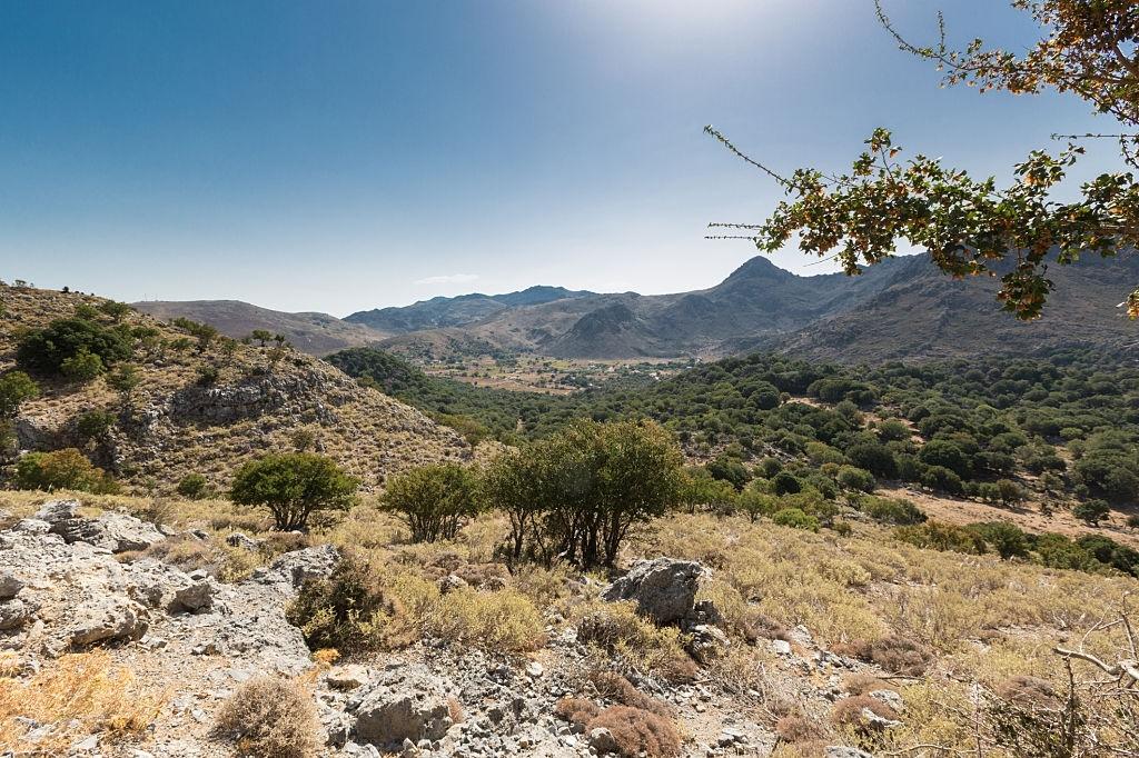 Plateaus in Crete