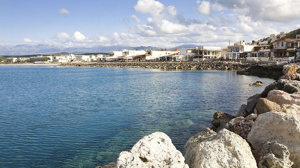 beach of Kolymvari in western Crete