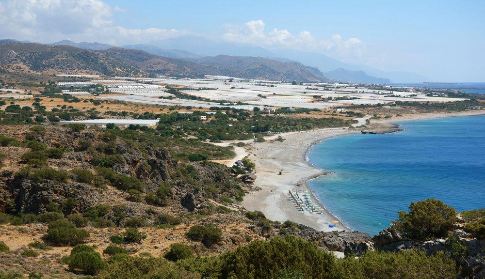 Krios Beach and Lake Krios