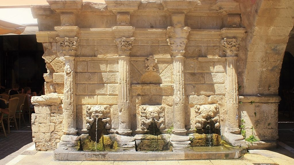 Rimondi Fountain in Rethymno