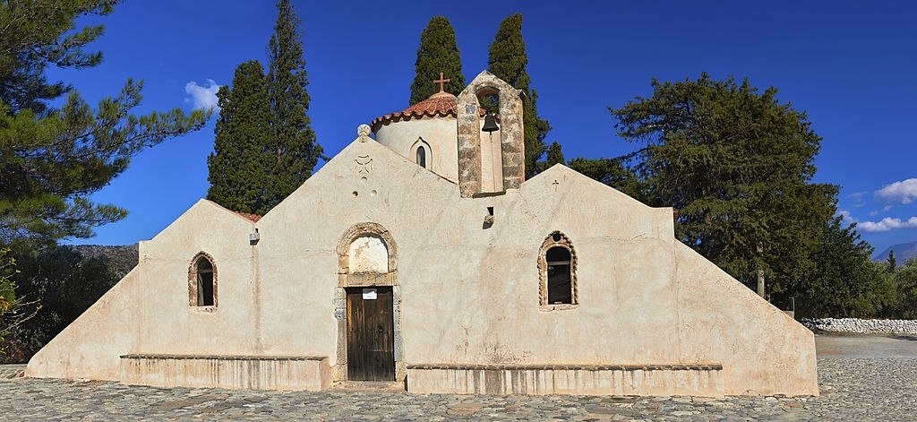 Panagia Kera in Kritsa, Crete, Greece