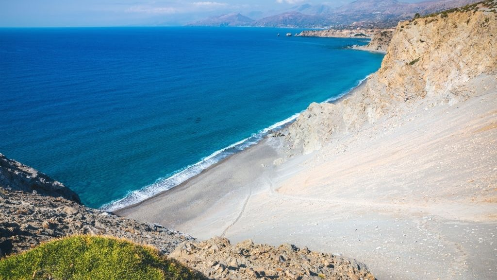 Beaches in South Crete