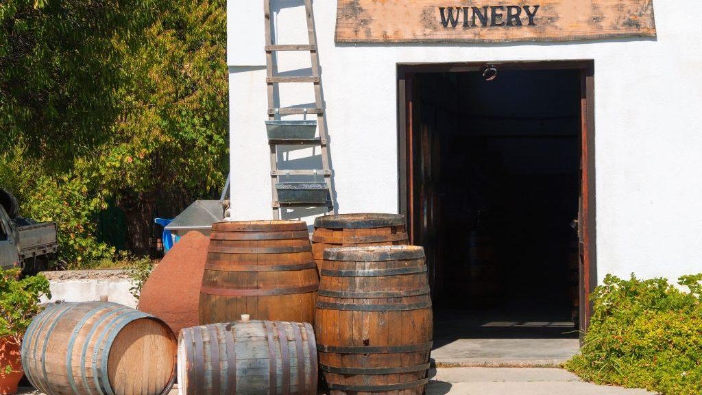 Crete's winery