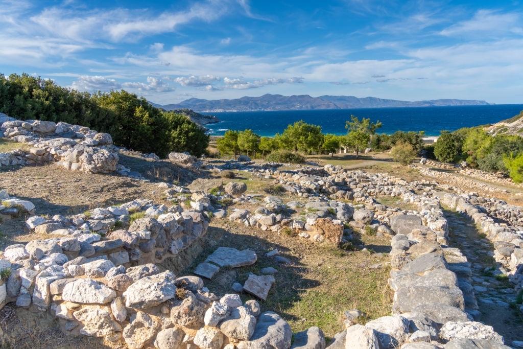 Ruins of Gournia, Minoan palace complex, Ierapetra