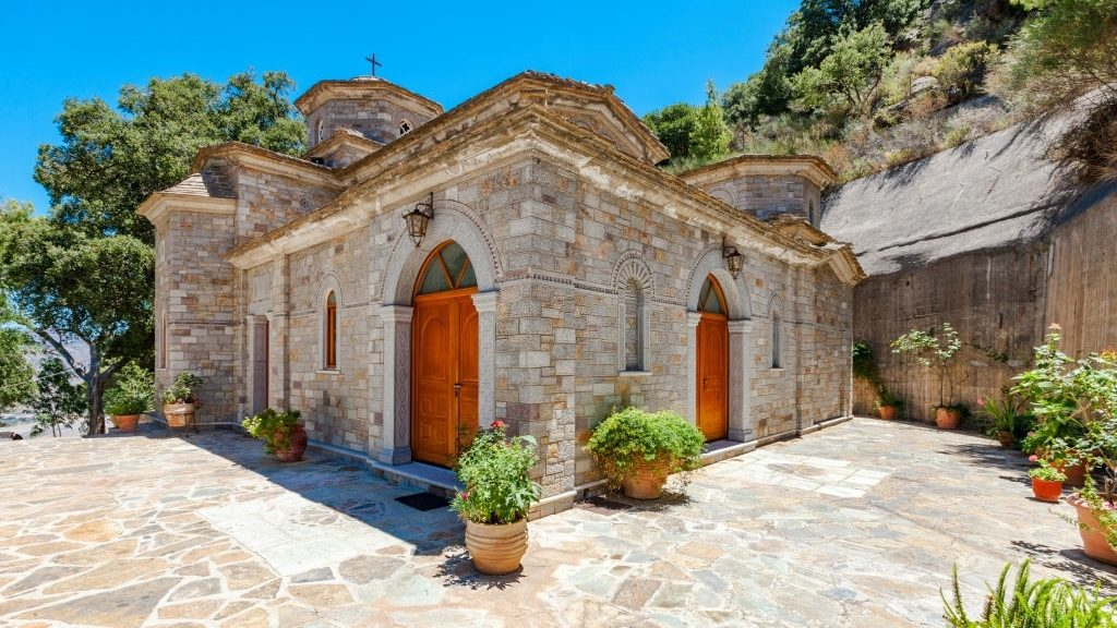 The monastery Kremaston