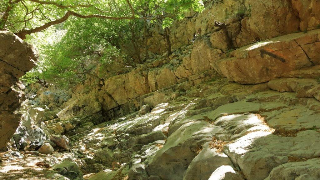 Moundros gorge