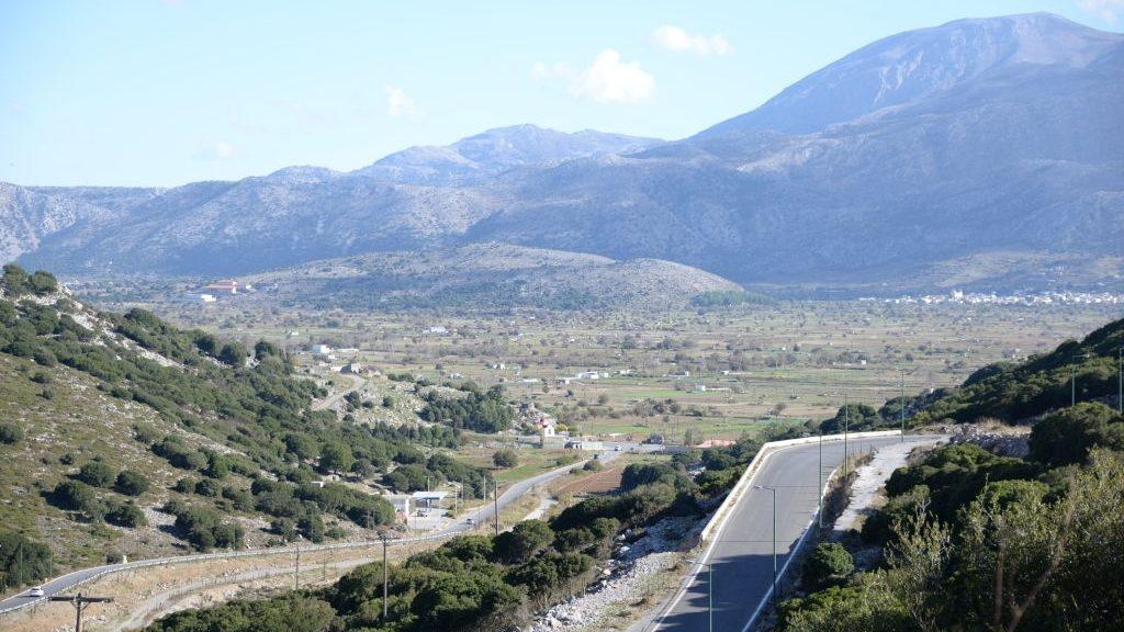 Minoan settlement at Karfi Crete
