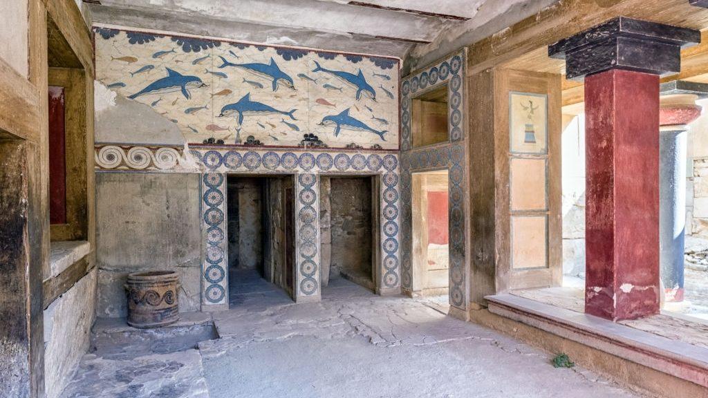 Knossos palace - Crete island, Greece